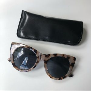 Max Edition Cat Eye Tortoiseshell Sunglasses